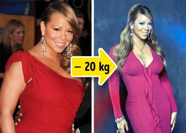 mariah pierde din greutate