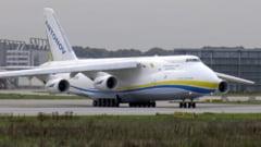 Primul avion cargo Antonov AN 124 cu echipamente medicale din China asteptat pe 7 aprilie
