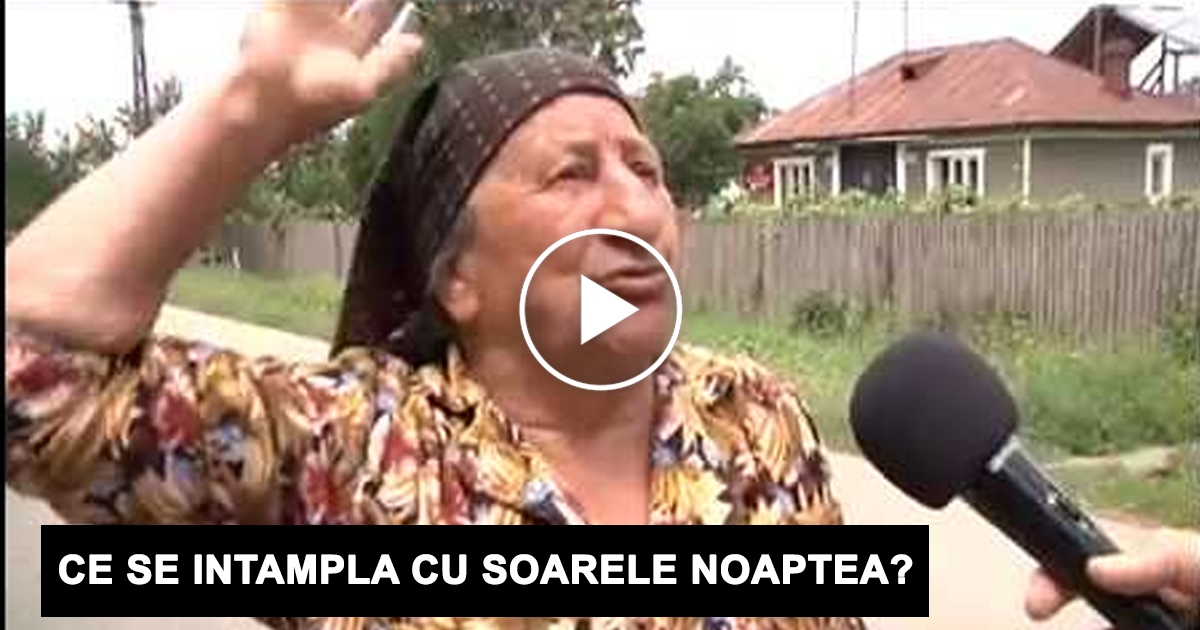 Ce se Г®ntГўmplДѓ cu soarele noaptea? CГўnd am auzit rДѓspunsurile am LESINAT DE RГ'S.. vezi VIDEO